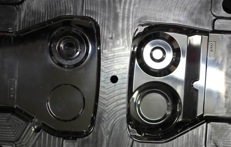 Post-test mould adjustment