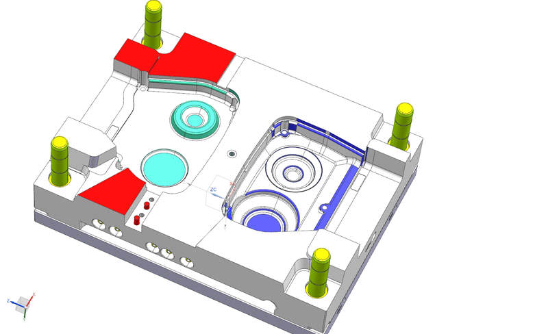 Project of the injection mould 03